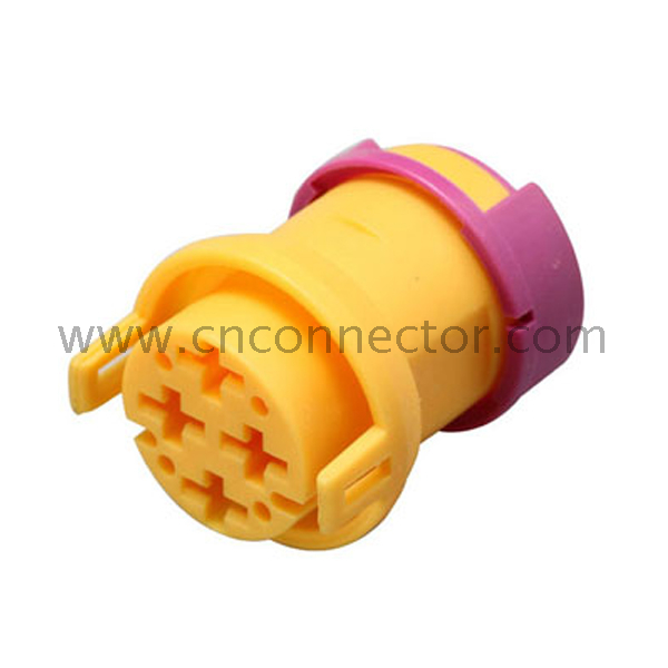 4 way female yellow OEM automobile wire connectors - Buy 12P04210008
