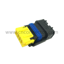 (211PC042S4021) 4 pin yellow waterproof female connector, plastic 1.5 series electrical wire auto connectors