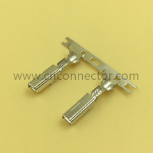 Brass crimping auto terminal